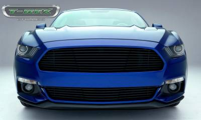 T-REX Grilles - 2015-2017 Mustang GT Laser Billet Grille, Black, 1 Pc, Replacement - PN #6215301 - Image 2