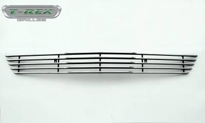 T-REX Grilles - 2015-2017 Mustang GT Laser Billet Bumper Grille, Polished, 1 Pc, Overlay - PN #6225300 - Image 5