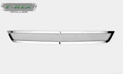 T-REX Grilles - 2015-2017 Mustang GT Upper Class Bumper Grille, Polished, 1 Pc, Overlay - PN #55530 - Image 5