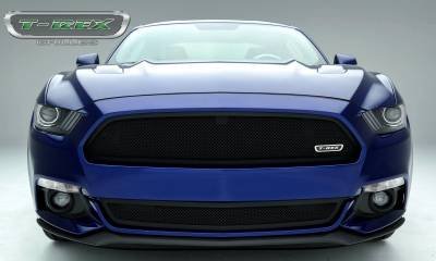 T-REX Grilles - 2015-2017 Mustang GT Upper Class Series Main Grille, Black, 1 Pc, Overlay, Full Opening - PN #51530 - Image 2