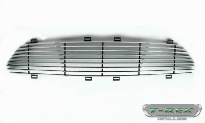 T-REX Grilles - 2015-2017 Mustang GT Laser Billet Grille, Polished, 1 Pc, Replacement - PN #6215300 - Image 3
