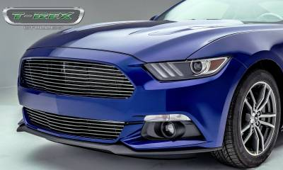 T-REX Grilles - 2015-2017 Mustang GT Laser Billet Grille, Polished, 1 Pc, Replacement - PN #6215300 - Image 4