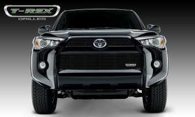 Billet Series Grilles - Toyota 4 Runner Billet Grille, Main & Bumper, Overlay, 3 Pc's, Black Powdercoated Aluminum Bars, Fits Trail & SR5 but not Limited - Pt # 21949B