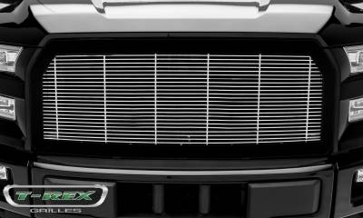 T-REX Grilles - 2015-2017 F-150 Billet Grille with frame, Polished, 1 Pc, Replacement,  - PN #58573 - Image 2