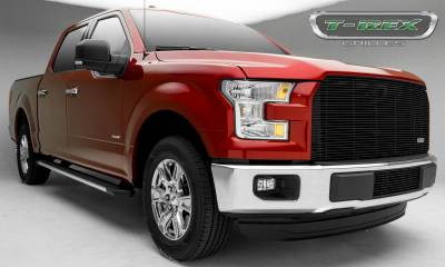 T-REX Grilles - 2015-2017 F-150 Billet Grille, Black, 1 Pc, Replacement - PN #20573B - Image 7