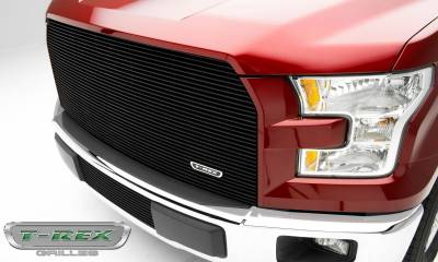 T-REX Grilles - 2015-2017 F-150 Billet Grille, Black, 1 Pc, Replacement - PN #20573B - Image 2