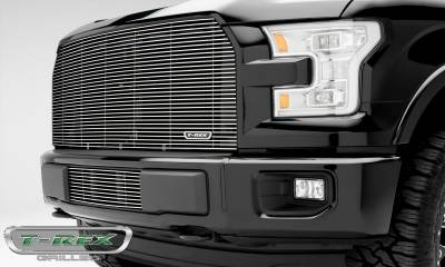 Billet Series Grilles - Ford F-150 - Billet Series - Main Grille with Polished Aluminum Finish - Pt # 20573