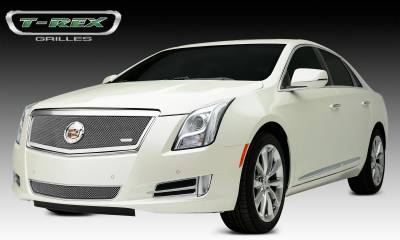 T-REX Grilles - 2013-2014 Cadillac XTS Upper Class Grille, Polished, 1 Pc, Replacement, Full Opening - PN #54173 - Image 3