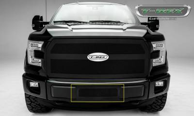 T-REX Grilles - Ford F-150 - Upper Class Series - Bumper Grille with Black Powdercoat Finish - Pt # 52573