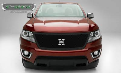 X-Metal Series Grilles - Chevrolet Colorado - X-Metal Series - Main Grille with Black Powdercoat Finish - Pt # 6712671