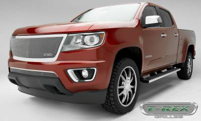 T-REX Grilles - 2015-2019 Chev Colorado Upper Class Grille, Polished, 1 Pc, Replacement, Full Opening - PN #54267 - Image 3