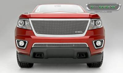 T-REX Grilles - 2015-2019 Chev Colorado Upper Class Grille, Polished, 1 Pc, Replacement, Full Opening - PN #54267 - Image 4