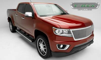 T-REX Grilles - 2015-2019 Chev Colorado Upper Class Grille, Polished, 1 Pc, Replacement, Full Opening - PN #54267 - Image 7
