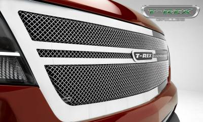 T-REX Grilles - 2015-2019 Chev Colorado Upper Class Grille, Polished, 1 Pc, Replacement,  Center 2 Bar Design - PN #54268 - Image 7