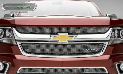 T-REX Grilles - 2015-2019 Chev Colorado Sport Grille, Chrome, 2 Pc, Overlay - PN #44267 - Image 5