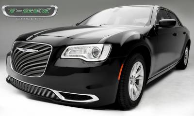 T-REX Grilles - 2015-2018 Chrysler 300 Laser Billet Grille, Polished, 1 Pc, Replacement - PN #6214360 - Image 2