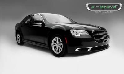 T-REX Grilles - 2015-2018 Chrysler 300 Laser Billet Grille, Polished, 1 Pc, Replacement - PN #6214360 - Image 4