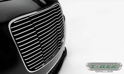 T-REX Grilles - 2015-2018 Chrysler 300 Laser Billet Grille, Polished, 1 Pc, Replacement - PN #6214360 - Image 5