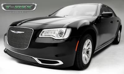 T-REX Grilles - 2015-2018 Chrysler 300 Billet Grille, Polished, 1 Pc, Overlay - PN #21436 - Image 2