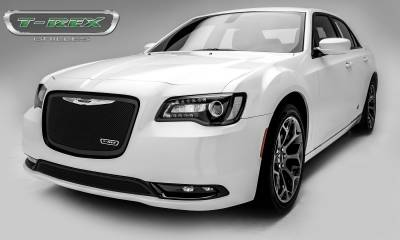 T-REX Grilles - Chrysler 300 - Upper Class Series - Main Grille Replacement with Black Powder Coat Finish - Pt # 51436