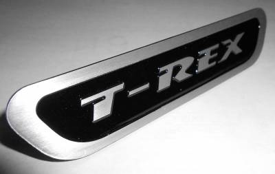 T-REX Grilles - Universal T-REX Logo, Black, 1 Pc, Bolt-On,  - PN #L1016 - Image 1