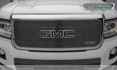 T-REX Grilles - 2015-2019 GMC Canyon Billet Grille, Polished, 1 Pc, Insert - PN #20371 - Image 2