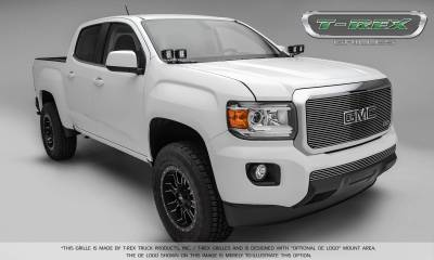 T-REX Grilles - 2015-2019 GMC Canyon Billet Bumper Grille, Polished, 1 Pc, Insert - PN #25371 - Image 3