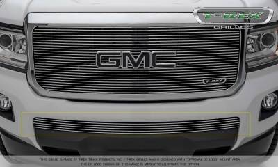 Billet Series Grilles - GMC Canyon Billet Bumper Grille, Overlay - Polished- Pt # 25371