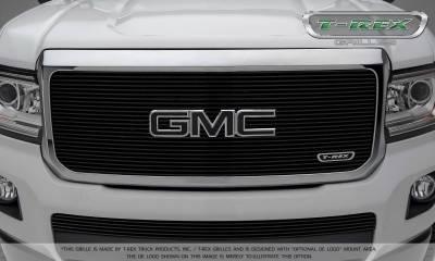 T-REX Grilles - 2015-2019 GMC Canyon Billet Grille, Black, 1 Pc, Insert - PN #20371B - Image 2