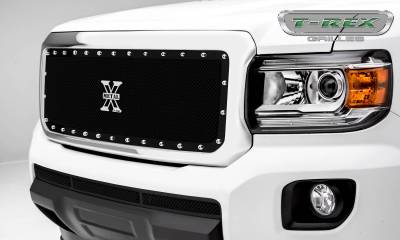 X-Metal Series Grilles - GMC Canyon X-Metal Main Grille, Insert - Black - Pt # 6713711