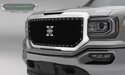 X-Metal Series Grilles - GMC Sierra 1500 X-Metal Main Grille, Insert - Black - Pt # 6712131