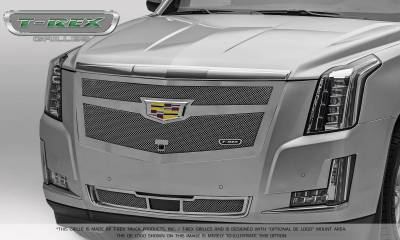 T-REX Grilles - 2015-2019 Escalade Upper Class Bumper Grille, Chrome, 1 Pc, Replacement, Fits Vehicles with Adaptive Cruise Control - PN #57189 - Image 6