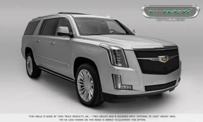 T-REX Grilles - 2015-2019 Escalade Upper Class Grille, Black, 1 Pc, Replacement, Fits Vehicles with Camera - PN #51189 - Image 7