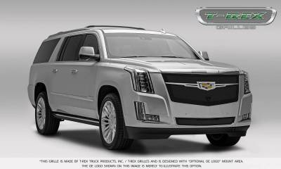 T-REX Grilles - 2015-2019 Escalade Upper Class Grille, Black, 1 Pc, Replacement, Fits Vehicles with Camera - PN #51189 - Image 8