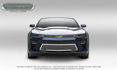 T-REX Grilles - 2016-2018 Camaro Upper Class Series Main Grille, Polished, 2 Pc, Overlay, V8 - PN #54035 - Image 4