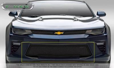 T-REX Grilles - 2016-2018 Camaro Upper Class Series Bumper Grille, Black, 1 Pc, Overlay, V8 - PN #52036 - Image 2