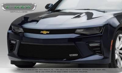 T-REX Grilles - 2016-2018 Camaro Billet Grille, Black, 2 Pc, Overlay - PN #21033B - Image 2