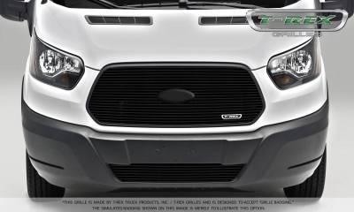 T-REX Grilles - 2016-2018 Ford Transit Billet Grille, Black, 1 Pc, Insert - PN #6205751 - Image 2