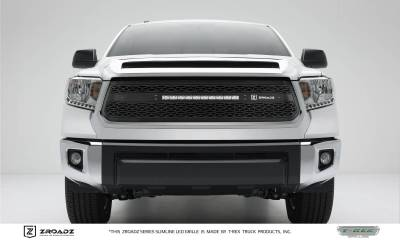 "T-REX Grilles - 2014-2017 Tundra ZROADZ Grille, Black, 1 Pc, Replacement, Incl. (1) 20"" LED - PN #Z319641"