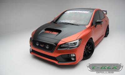 T-REX Grilles - 2015-2017 Subaru WRX Upper Class Series Bumper Grille, Black, 1 Pc, Overlay - PN #52982 - Image 8