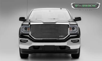 T-REX Grilles - 2016-2018 Sierra 1500 Laser Billet Grille, Polished, 1 Pc, Insert, without Logo Cutout - PN #6202140 - Image 2