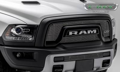 T-REX Grilles - 2015-2018 Ram 1500 Rebel Laser Billet Grille, Polished, 2 Pc, Overlay - PN #6214640 - Image 4