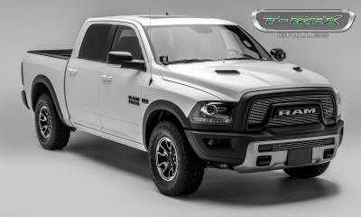 T-REX Grilles - 2015-2018 Ram 1500 Rebel Billet Bumper Grille, Polished, 1 Pc, Insert - PN #254641 - Image 3