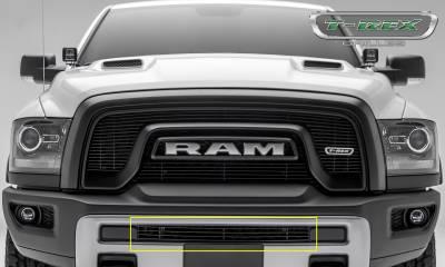 T-REX Grilles - 2015-2018 Ram 1500 Rebel Billet Bumper Grille, Black, 1 Pc, Insert - PN #254641B - Image 2