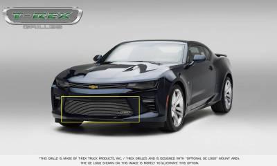 T-REX Grilles - 2016-2018 Camaro Billet Bumper Grille, Polished, 1 Pc, Overlay, V6 - PN #25033 - Image 8