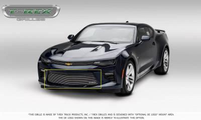 T-REX Grilles - 2016-2018 Camaro Billet Bumper Grille, Polished, 1 Pc, Overlay, V6 - PN #25033 - Image 7