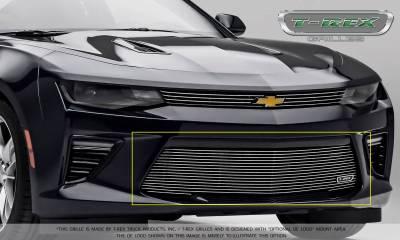 T-REX Grilles - 2016-2018 Camaro Billet Bumper Grille, Polished, 1 Pc, Overlay, V6 - PN #25033 - Image 6