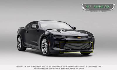 T-REX Grilles - 2016-2018 Camaro Billet Bumper Grille, Polished, 1 Pc, Overlay, V6 - PN #25033 - Image 4