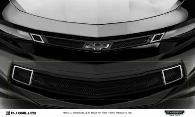 DJ Series Grilles - T-REX Chevrolet Camaro V8 - DJ Series Strada - Bumper Grille Overlay - Pt # DJ20351