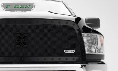 T-REX Grilles - 2013-2018 Ram 2500, 3500 Stealth X-Metal Grille, Black, 1 Pc, Replacement, Black Studs - PN #6714521-BR - Image 2